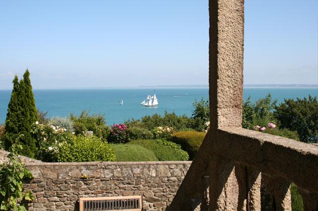 Vue sur mer et le Mont Saint Michel